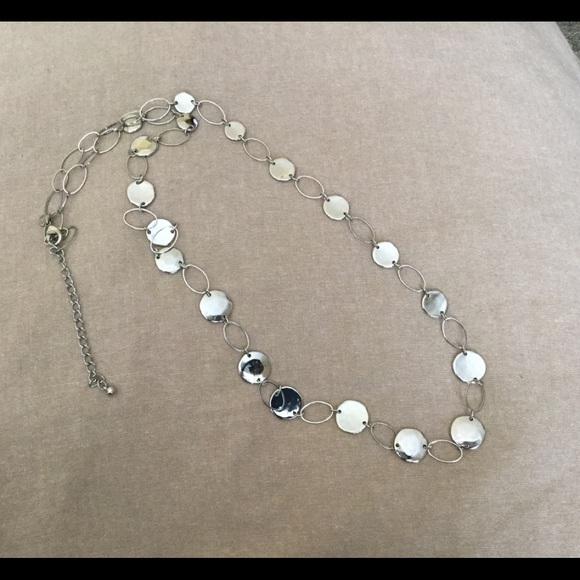 Chico's Jewelry - Chico's silver necklace